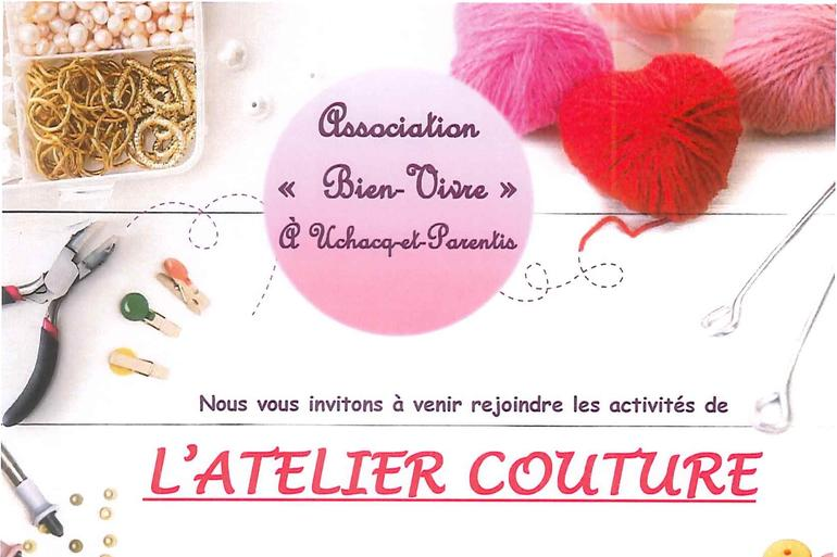 Section Couture -Association Bien Vivre à Uchacq